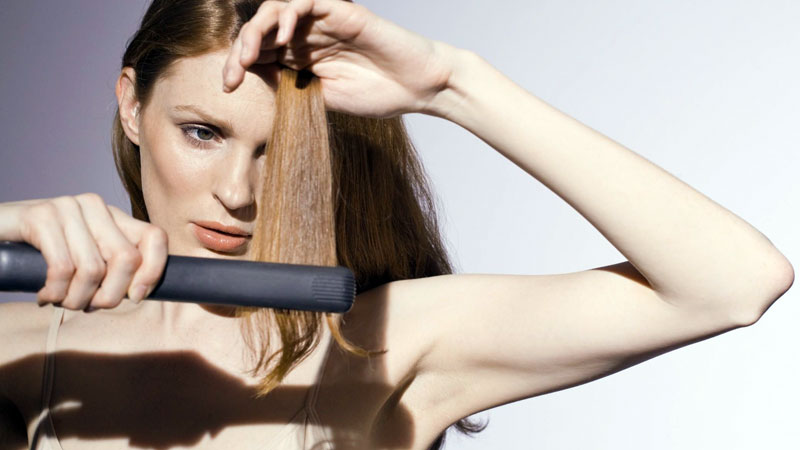 piastra per capelli fragili