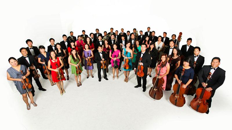 un esempio di orchestra